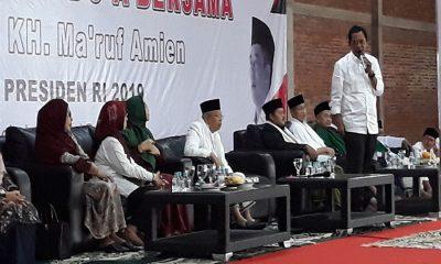 Ketua Kadin Mulyadi Jayabaya gelar silaturahmi dengan Ma'ruf Amin