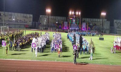 Konvoi Kontingen Kabupaten Tangerang paling panjang