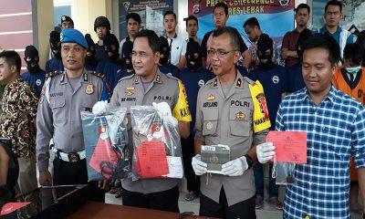 Polres Lebak Menangkap 17 Anggota Komplotan Pembool Rumah dan Pencuri Kendaraan Bermotor