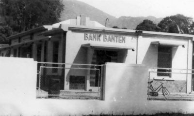 SEJARAH BANK BANTEN DIBANGUN PERTAMA KALI DI GEDUNG JUANG 45 PANDEGLANG