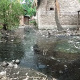 Potret Kampung Kumuh di Warung Jaud Serang, Sampah Menumpuk Menyatu dengan Kotoran Kerbau