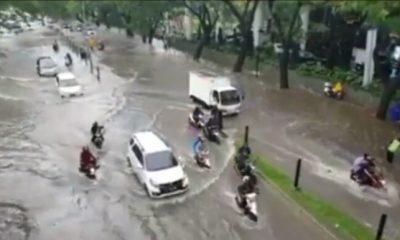 Kawasan Lippo Karawaci Banjir