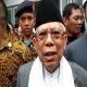 KH. Ma'ruf Amin acara milad ke-75 Ponpes Nurul El-Falah Kabupaten Serang