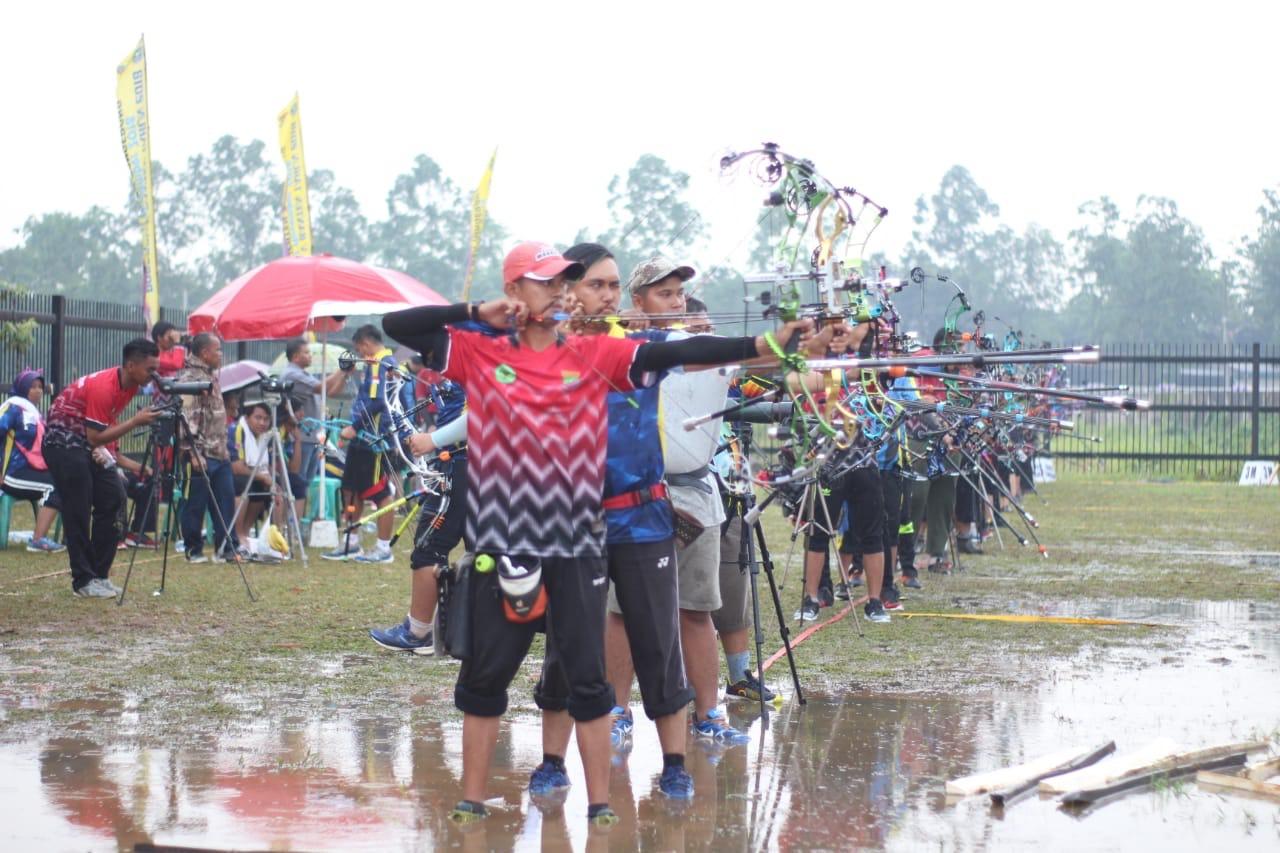 Venue Panahan Porprov V Banten Terendam Air, Atlet Gagal Fokus