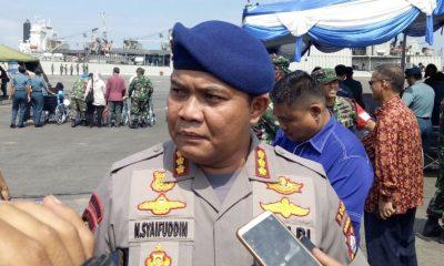 Direktur Polair Polda Banten Kombes Pol. Nunung Syaifudin