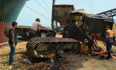 Kecelakaan Kerja Pelabuhan PT Indah Kiat Pulp and Paper, Pekerja Bongkar Muat Tewas Tertimpa Alat Berat