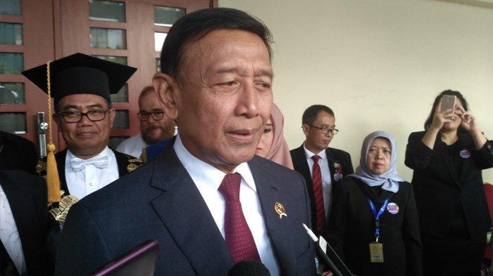 Menko Polhukam Wiranto di UT