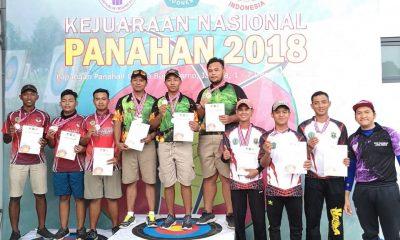 atlet panahan kabupaten tangerang di kejurnas panahan 2018