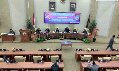 Paripurna penyerangan 56 bidang aset pemkab tangerang ke Pemot Tangerang