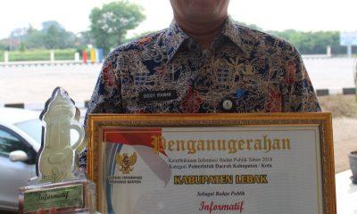 Dodi Irawan Kepala Dinas Komunikasi dan Informati Kabupaten Lebak