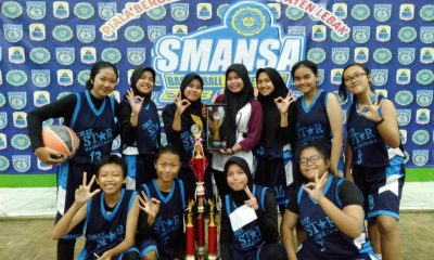 Tim Basket Putri SMAN 3 Rangkasbitung Sabet Juara SMANSA Basketball Competition