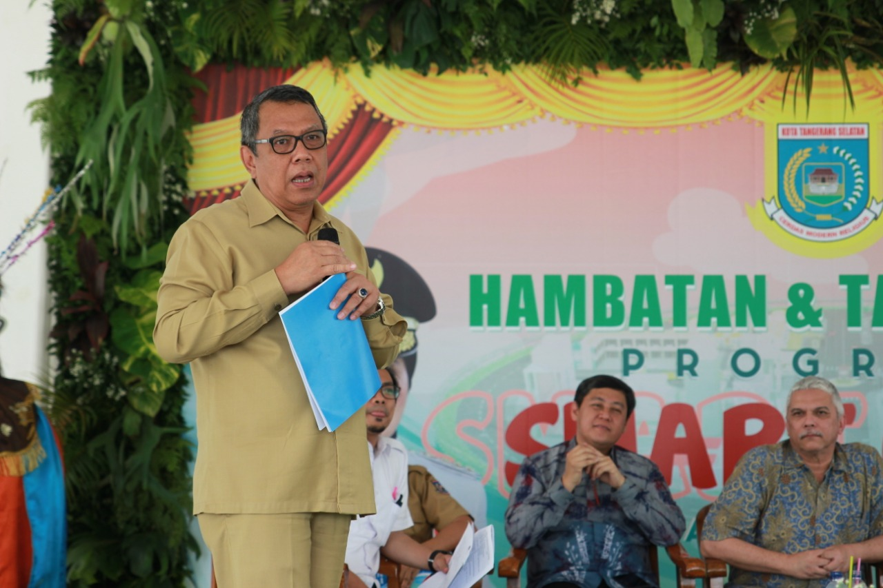 Wakil Wali Kota Tangsel Benyamin Davnie soal Smart City