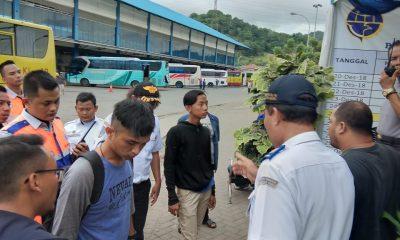 Calon Bus di Terminal Terpadu Merak Aniaya Wartawan