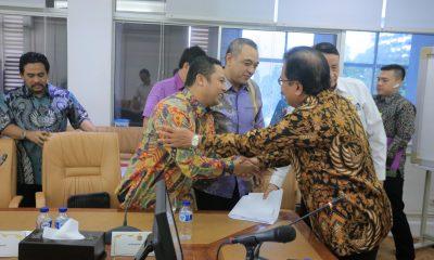 Wali Kota Tangerang Audiensi dengan Menteri ATR