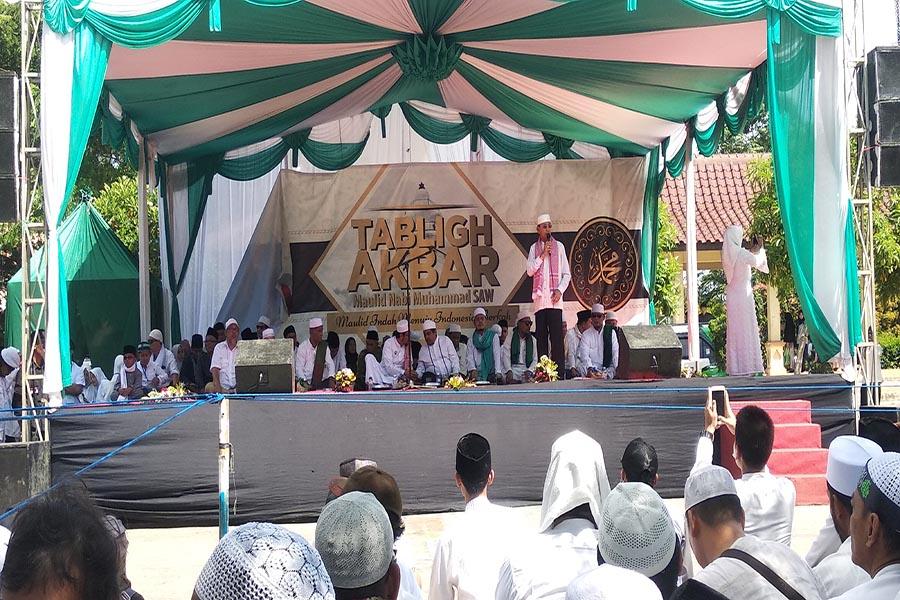 Ahmad Taufik Nuriman Hadiri Tablig Akbar