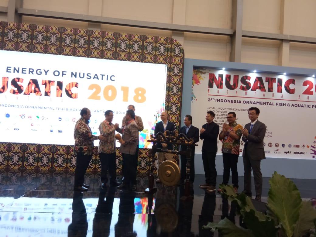 Pembukaan Nuasntara Aquatic atau Nusatic 2018