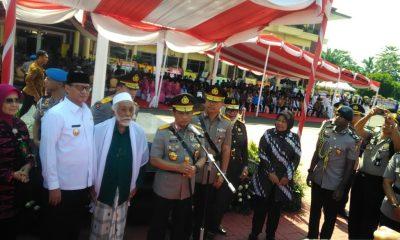 kapolri resmikan kenaikan tiep A Polda Banten
