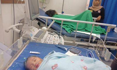 Ini Penampakan Bayi Pengidap Ganggung Jiwa yang Persalinannya Dibantu Satpol PP