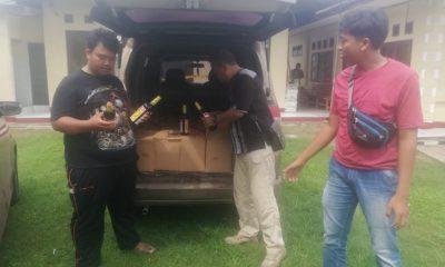 Edarkan Miras di Wilayah Malingping, Warga Jakarta dan Tangsel Dicokok Polisi