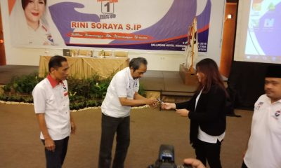 Caleg DPRD Banten Dapil Kabupaten Serang dari Perindo Rini Soraya Bimtek Relawan