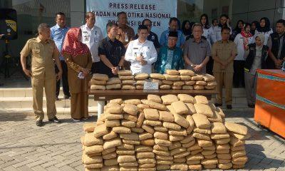 BNP Banten Sita 335 Kg Ganja dalam Mesin Penggilingan Kopi