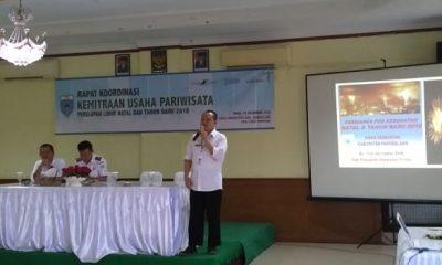 Dinas Pariwisata Kabupaten Pandeglang menggelar rapat kordinasi