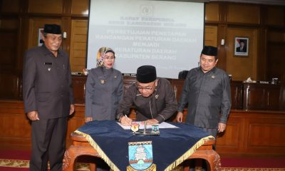 Ratu Tatu saat Rembug KTNA Kabupaten Serang
