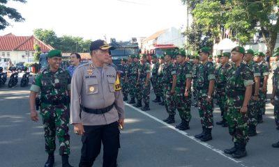 410 Personel Gabungan Disiagakan Jaga Natal dan Tahun Baru