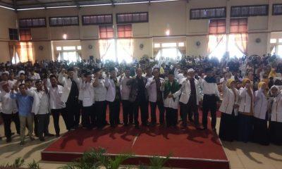 Ribuan Relawan PKS Lebak Ikut Pelatihan DR Fahmi, Bahas Raihan Kursi di Pemilu 2019