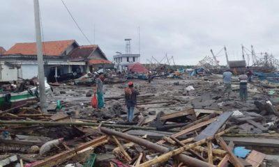 Korban Tsunami di Kecamatan Sumur Keluhkan Minimnya Tim Evakuasi dan Bantuan Logistik
