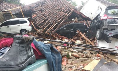 Lokasi terdampak bencana tsunami di Pandeglang