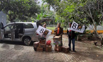Sanuji Pentamarta dan Relawan PKS Salurkan Bantuan Korban Bencana Tsunami
