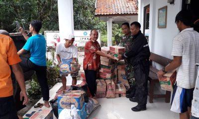 Bantuan untuk Korban Tsunami di Anyer dan Cinangka Terus Didistribusikan