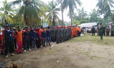 Lakukan Pencarian Korban Tsunami secara Terpadu, Dandim 0623 Cilegon Imbau Relawan Disuntik Tetanus