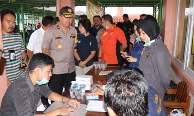 Kapolda Banten Kunjungi TIM DVI Mabes Polri di RUSD Berkah Pandeglang