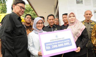 Pemkab Lebak Gelontorkan Rp 200 Juta Bantu Korban Tsunami Selat Sunda