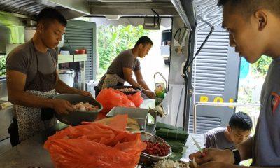 Dapur Lapangan Satgas Brimob Nusantara