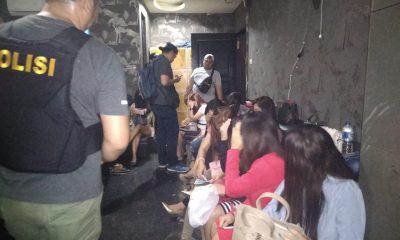Razia Tempat Hiburan Malam di Cilegon, Dua Pengunjung Positif Gunakan Sabu