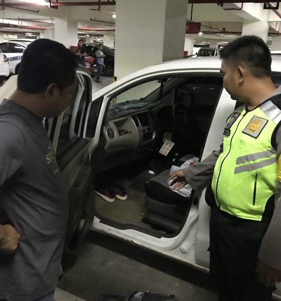 Pencurian di Cilegon Center Mall