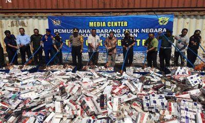 Bea dan Cukai Banten Musnahkan Barang Bukti Penindakan Senilai Rp 1,7 M