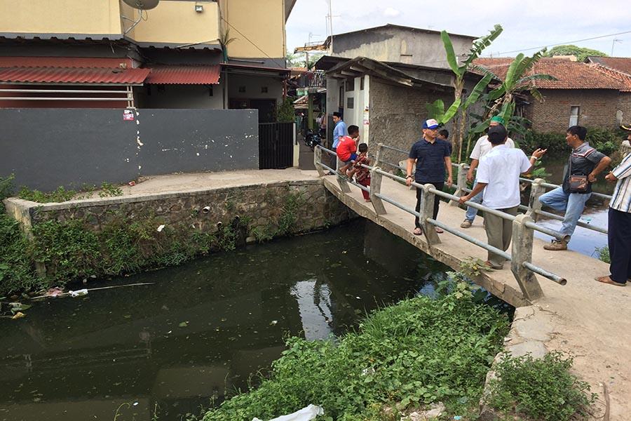Warga Terate Udik Curhat Kerap Jadi Korban Banjir, Anggota DPRD Sigap Langsung Sidak Kali