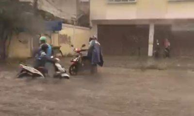 Sejumlah Jalan Protokol di Kota Tangerang Terendam Banjir