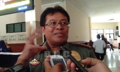 Kepala Balai TNUK Mamat Rahmat.