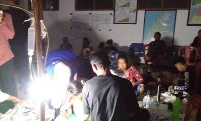 KORBAN GELOMBANG TINGGI DI DESA TANJUNG JAYA PANIMBANG