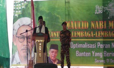 Ketua PEngurus Wilayah NU Banten KH. Bunyamin