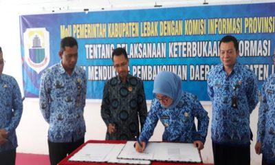 MoU KI Banten dengan Pemkab Lebak