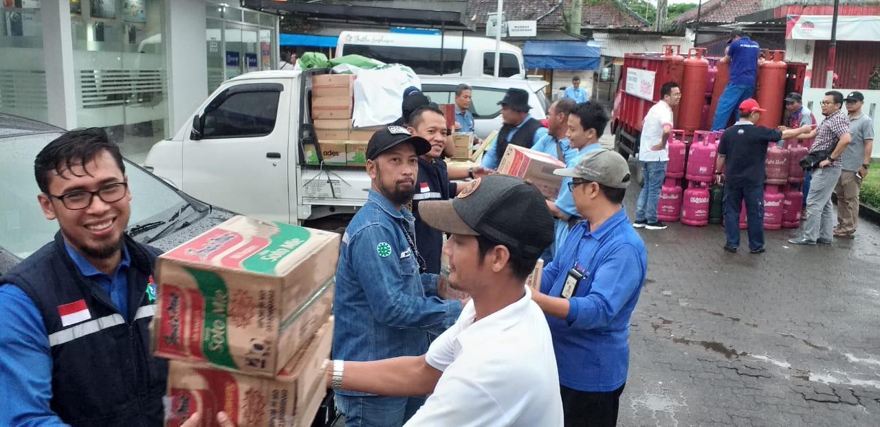 Aksi Peduli KRAKATAU POSCO untuk Korban Bencana Tsunami Selat Sunda