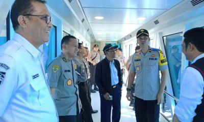 Wakapolda Banten Pastikan Kondisi Pelayanan di Pelabuhan Merak Aman