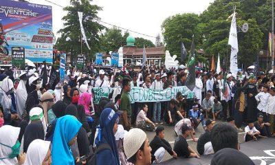 Ribuan Umat Islam di Banten Serukan solidaritas untuk Uighur