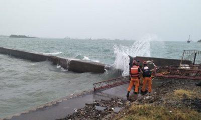 Dihantam Gelombang, Alat Pendeteksi Cuaca BMKG di Pelabuhan Merak Rusak